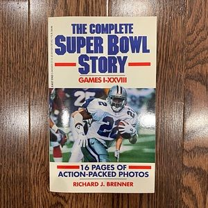 NWOT {The Complete Super Bowl Story} Book